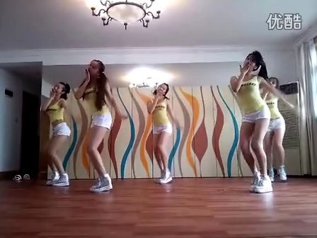 韩国美女舞团black lady的性感舞