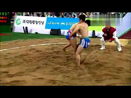 2012추석장사씨름대회