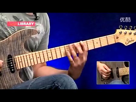 Greg Howe Fusion Style Am7 Arppegio Lick