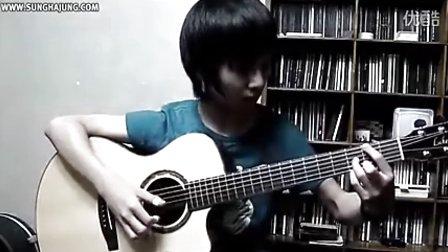指弹吉他-郑成河翻弹押尾桑的黄昏(Twilight)