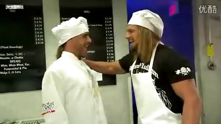 2009_Raw_8月10日_Triple H在餐厅找到Shawn
