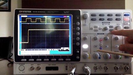 固纬电子数字存储示波器GDS-2000A功能键整体介绍