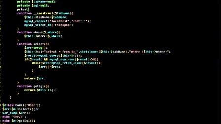 11.ThinkPHP 3.1.2 连贯操作
