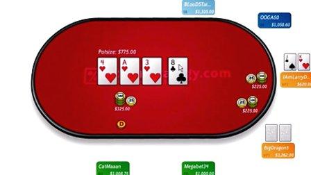 德州扑克教学:高额桌思路