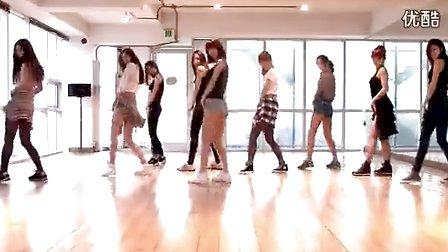2010韩国女子组合舞蹈练习室