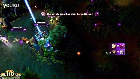 [LOL]精彩击杀:MISS怎么可能 回城我一样能杀死人