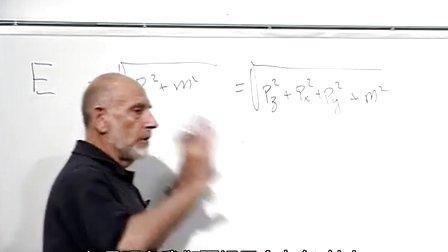 视频课堂:斯坦福大学:弦理论和M理论:01 弦理论和M理论