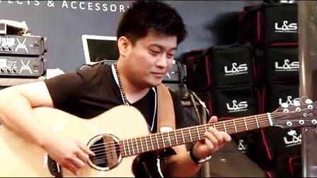 MAGIC 2013上海乐器展SA-4000CE视听陈亮演奏