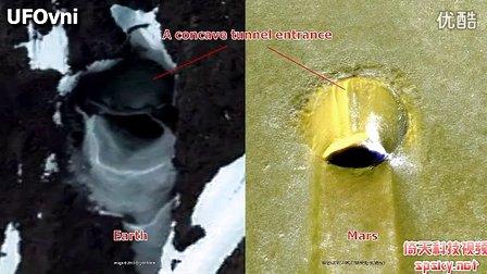 谷歌火星发现与地球类似的隧道入口