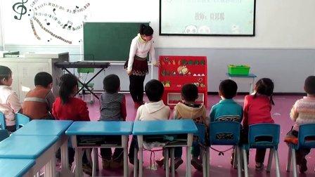 红光农场幼儿园优质课视频中班《果蔬总动员》教师