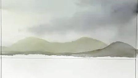 《跟傅兰克学画画》水彩画教程
