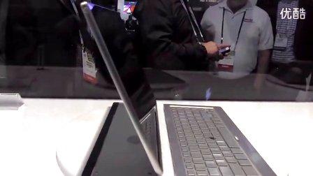 PC界变形金刚 东芝五合一概念超极本上手玩