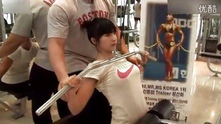 韩国美女健身教练 C 搜库