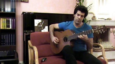【发现最热视频】伊朗神人开挂吉他弹奏《野蜂飞舞》