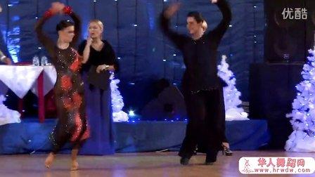 2014年莫斯科冬季之星体育舞蹈公开赛半决赛斗牛Горденков Никита - Баранов