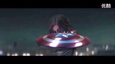 《美国队长2》超萌儿童版广告