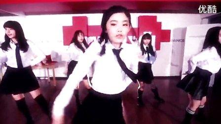 韩国高中女生舞蹈表演
