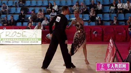 2014年莫斯科之星体育舞蹈锦标赛决赛恰恰Накостенко-Ощепкова