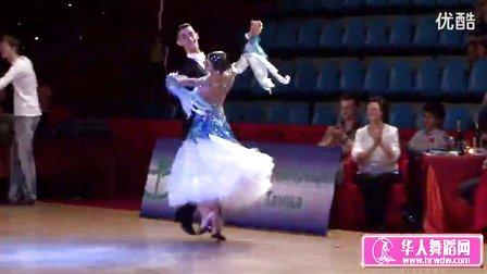 2014年莫斯科之星体育舞蹈锦标赛半决赛快步Гиниятуллин Гиниятуллина