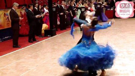 2014年WDSF世界体育舞蹈公开赛香港站摩登舞第二轮维也纳华尔兹Lacitis - Golodneva