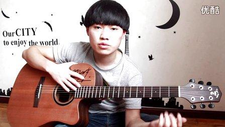 蓝莓吉他弹唱基础入门教学 第23课 《如何快速练好大横按的技巧》