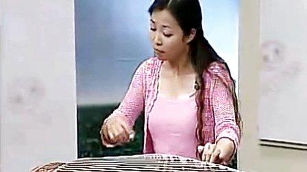 袁莎古筝教学+渔舟唱晚