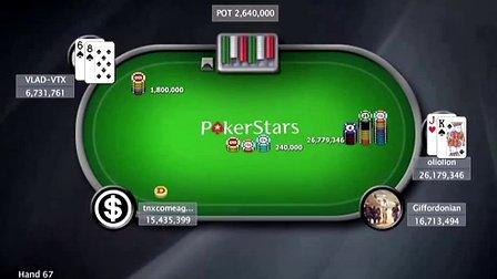中国扑克人:扑克之星周日百万赛视频Sunday Million2014-6-1