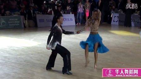 2014年俄罗斯体育舞蹈锦标赛八分之一决赛牛仔Боцов -Миронова