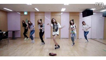 五个人的韩国女子组合练习室