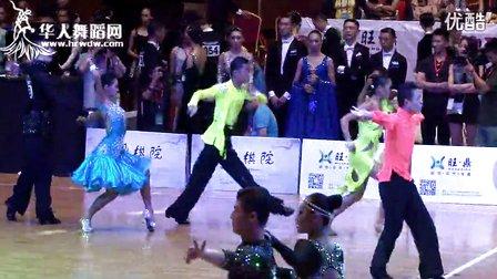 【VIP】2014年第12届全国青少年体育舞蹈锦标赛少年II组A级赛L半决赛恰恰王扬 王琦