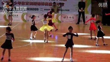 2014年第12届全国青少年体育舞蹈锦标赛业余女子单人8岁以下5组L决赛恰恰00006