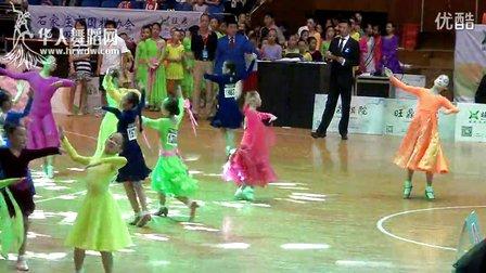 2014年第12届全国青少年体育舞蹈锦标赛业余女子单人10岁以下1组S决赛快步00093