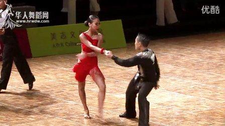 2014中国深圳标准舞缅甸万丰国际老百胜世界公开赛国际公开18岁以下L第四伦巴秦彬 粟姣瑞