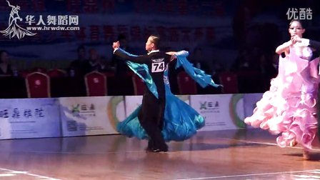 2014年第12届全国青少年体育舞蹈锦标赛业余21岁以下组A级赛S决赛快步谈嘉斌 黄咏琳