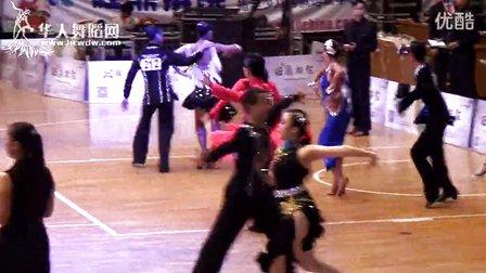 2014年第12届全国青少年体育舞蹈锦标赛业余少年II组A级赛L半决赛桑巴马君豪 禤梓晴