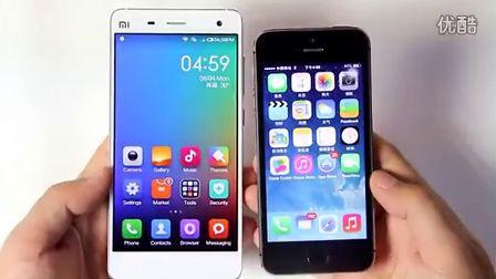 你选谁?小米4对比iPhone 5s