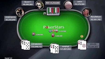 扑克之星小型百万赛8MicroMillions VIII $22 NL Hold\'em主赛事