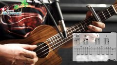 左轮尤克里里教学NO.36《讲解朴树的平凡之路》自学小吉他入门