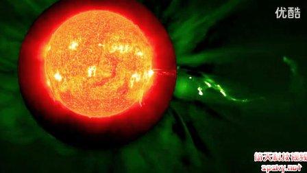 史上最清楚的太阳耀斑 场面极为壮观