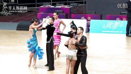 【VIP】2014年中国体育舞蹈公开赛(武汉站)少年II组A级L第一轮伦巴王杨 王琦