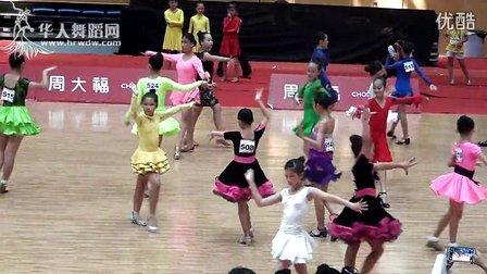 2014年CBDF中国杯国际标准舞巡回赛(泉州站)业余12岁以下女单A组L第一轮第二组伦巴