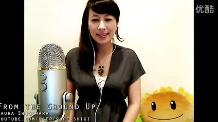 Minecraft我的世界[音乐视频]Laura Shigihara配音From the Ground Up时的场景