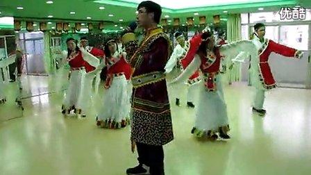 玉树藏族舞蹈教学视频