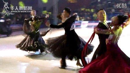 2014年中国体育舞蹈公开赛岳阳站A组S复赛1维也纳华尔兹朱原洁 邵雅雯