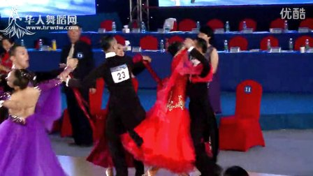 2014年中国体育舞蹈公开赛岳阳站A组S预赛快步吴镝 彭巧俐1
