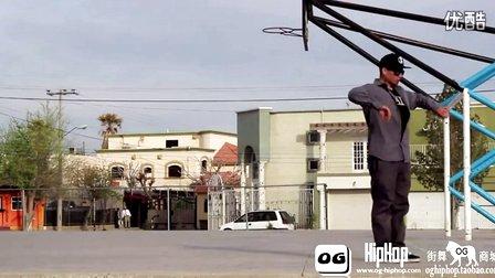 【街舞视频】机械舞牛人 poppin 达人大师 popping john Poppin John SBK LXD Flippin Styles