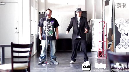 【街舞视频】机械舞牛人 poppin 达人大师 popping john Sound Activation