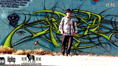 【街舞视频】机械舞牛人 poppin 达人大师 popping john Poppin John SBK in The Sleepers Promo Vid..