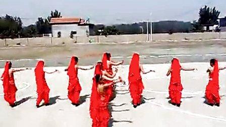 广场舞印度舞印度美女变队形
