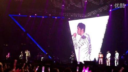 【香草水蓝】20141120周杰伦魔天伦香港演唱会歌迷合唱《你听得到》